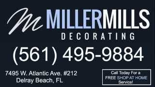 Window Treatments Delray Beach (561) 495-9884 Miller Mills