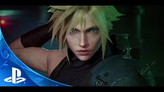 Trailer in-game Final Fantasy VII Remake