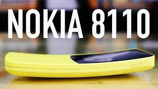 Обзор Nokia 8110. Теперь с 4G и банановым цветом