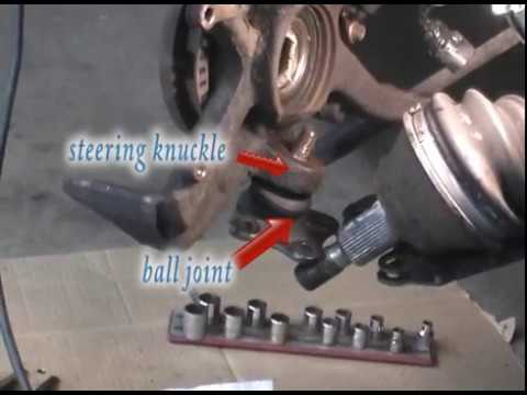 Easy Trick for Removing Tie Rods and Ball Joints