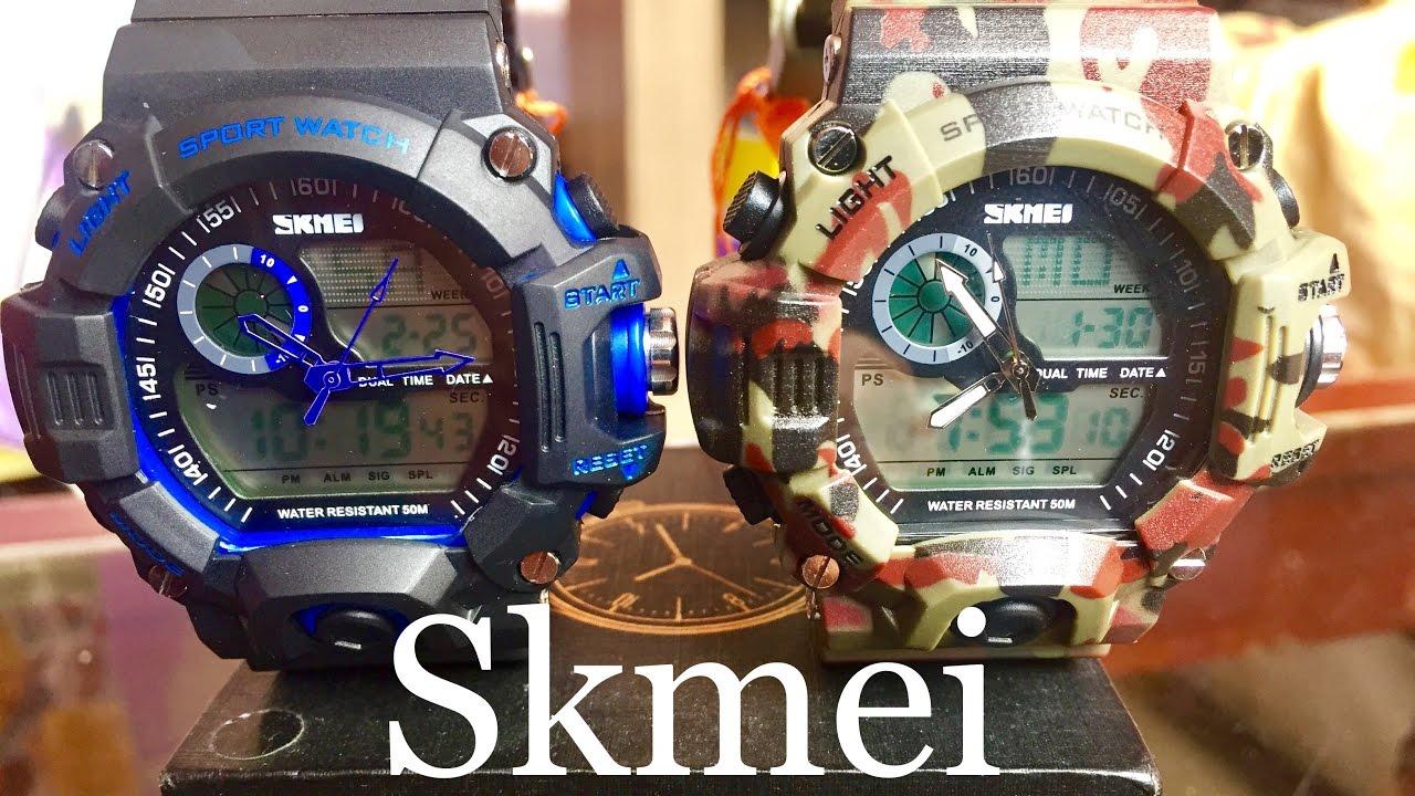 83fdf6235bd4 Review 360º Sport Watch SKMEI 1029 - Reloj Deportivo Análogo Digital G Shock