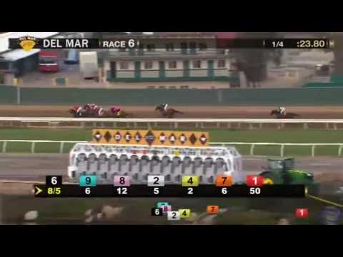2016 Cecil B  DeMille Stakes Gr 3 - Term of Art - Del Mar
