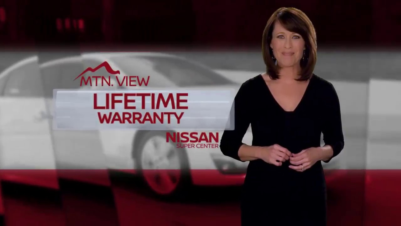 mtn view nissan no charge lifetime warrant - youtube