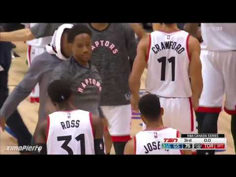 Golden State Warriors vs Toronto Raptors   Full Game Highlights   Oct 1, 2016   2016 NBA Preseason