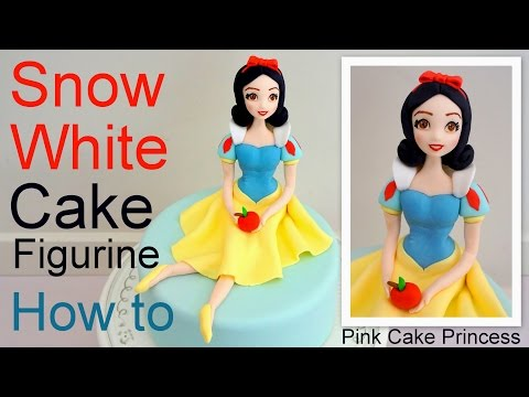 Thumbnail: Snow White Cake Figurine how to by Pink Cake Princess