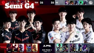 IG vs TES - Game 4 | Semi Final LPL Spring 2020 | Invictus Gaming vs Top Esports G4