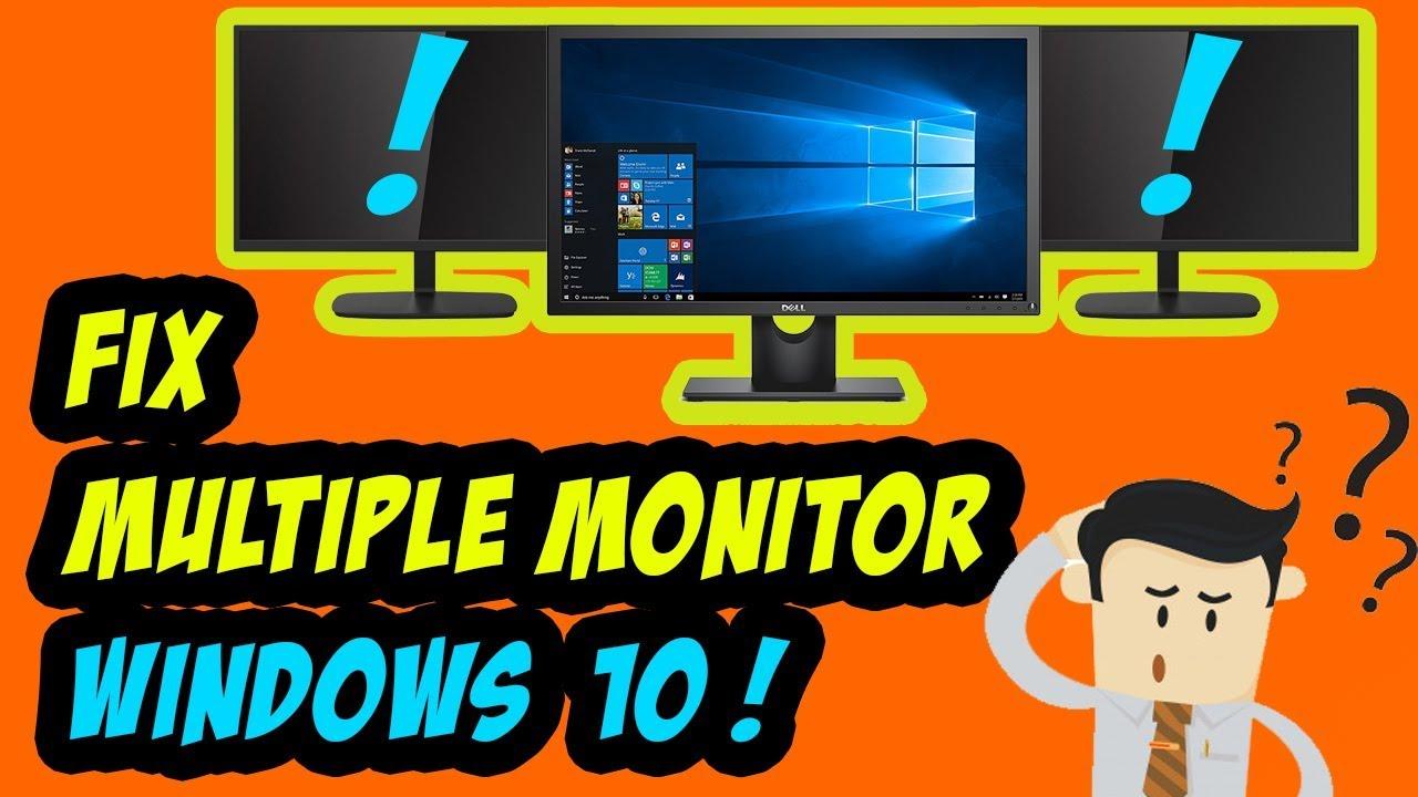Nvidia Dual Monitor Driver Windows 10