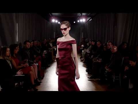 ZAC POSEN FALL WINTER 2014 FASHION SHOW