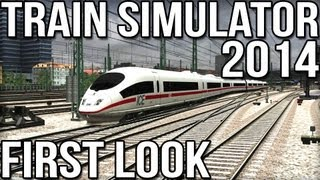 Train Simulator 2014 - First Look - ICE3 High Speed Train