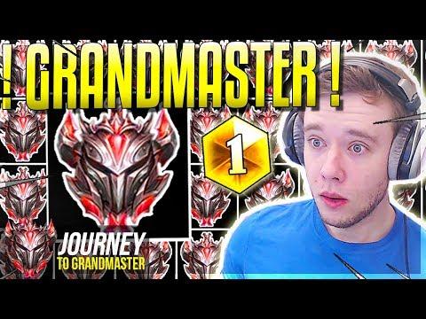 NEW GRANDMASTER RANK IS HERE TRYHARD TIME ft Panunu - Journey To Grandmaster  League of Legends