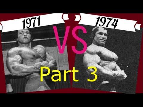 When Was Arnold Schwarzenegger At His Best??(Part 3) 1971 vs 1974