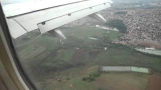 Pousando em Goiânia Aeroporto Santa Genoveva