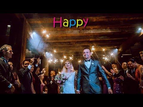 Saída dos Noivos Animada  Happy Pharrell Williams  Banda para Casamento  Músicos Cerimonial