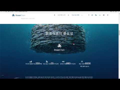 [코인호재]오션코인 . ocean chain 설명 코인네스트