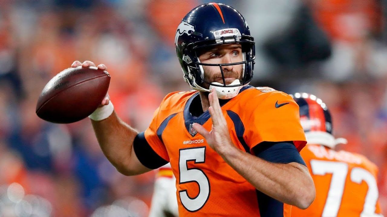 Sources - New York Jets signing QB Joe Flacco to one-year deal