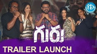 Venkatesh's Guru Trailer Launch || Ritika Singh || Sudha Kongara Prasad || Santhosh Narayanan