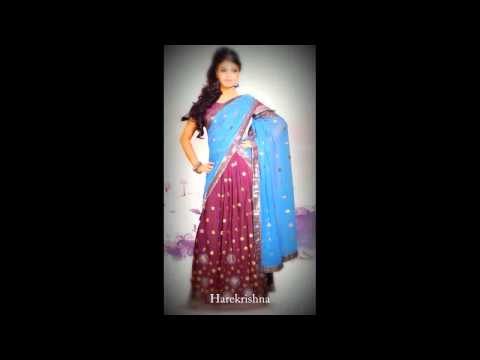 Latest Pattu Half Saree Designs collections, Half saree designs for festivals from YouTube · Duration:  3 minutes 55 seconds