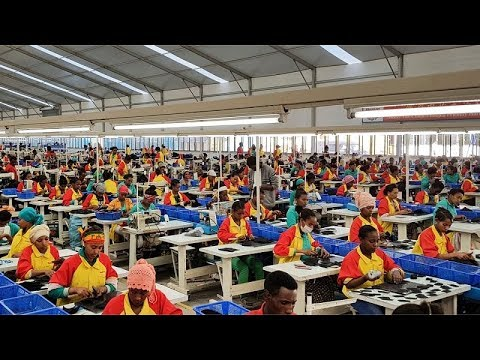 Download Ethiopia: Hawassa Industrial Park employs 18,000 people, mainly in textile and garment manufacturing