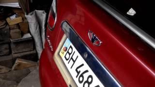 Газовые лифты на крышке багажника Ланос