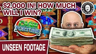💵 BIG Money: $2,000 In 🤔 How Much Will I Win Playing CASH FORTUNE?