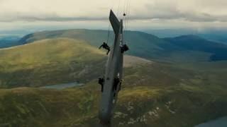 Бэйн | Сцена с самолетом IMAX [Темный рыцарь: Возрождение легенды]