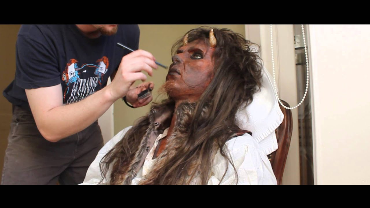 Beauty and the beast vincent makeup