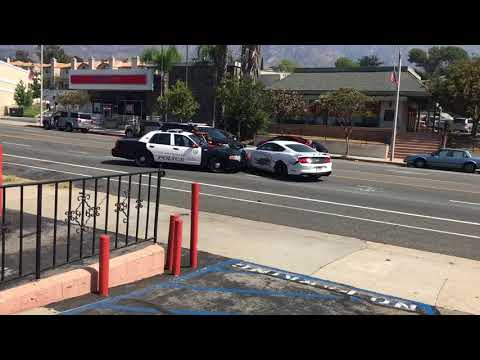 Glendale Police Department attempting to stop fleeing suspect