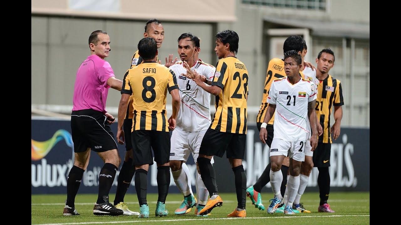 Malaysia vs Myanmar: AFF Suzuki Cup 2014 (FULL MATCH) - YouTube
