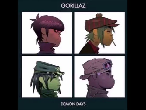 Gorillaz Demon Days Full Album HIGHEST QUALITY