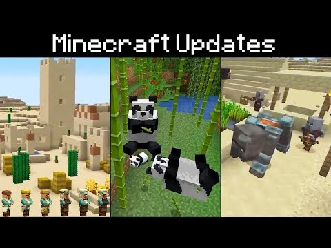 "Minecraft Pandas, Bamboo, Cats, Scaffolding, ""Village & Pillage"" New Villages, The Beast, Crossbow thumbnail"
