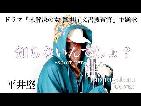 知らないんでしょ? ~short ver.~ (ドラマ『未解決の女 警視庁文書捜査官』主題歌) - 平井堅 (cover)