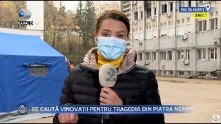 Stirile Kanal D(17.11.2020) - Se cauta vinovatii pentru tragedia din Piatra Neamt! Editia de pranz