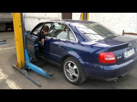 Audi A4 2.5 TDI sound check