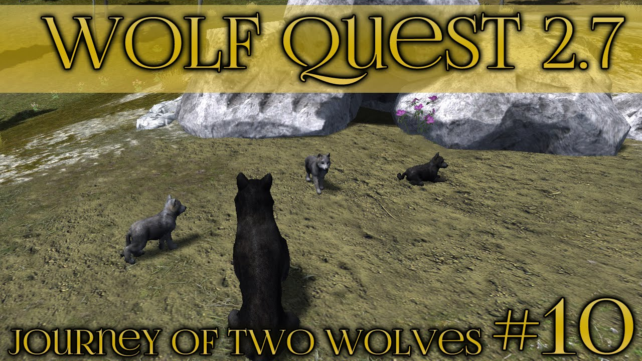 Night light ep 11 - Birth Of Nightlight Moon Pack S First Litter Wolf Quest 2 7 Brothers Journey Episode 10