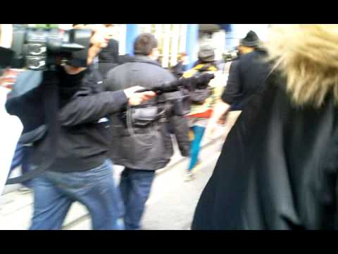 G20 Protests: Mobile Phone Footage for KK Outlet