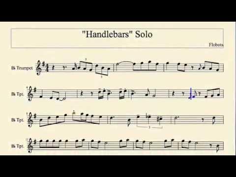 Flobots - Handlebars Trumpet Solo