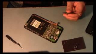 Замена Сенсорного Экрана на lenovo A916.