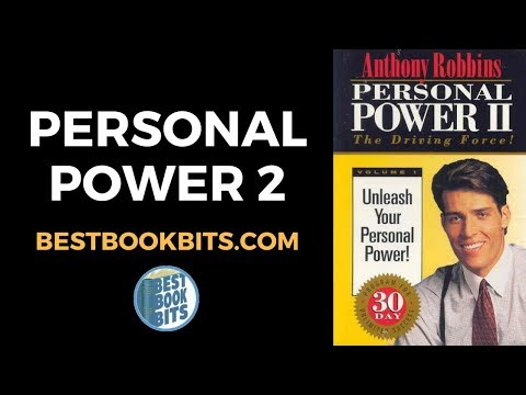 Personal Power II | Anthony Robbins | Audio Summary | bestbookbits.com