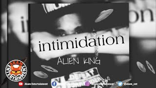 Alien King - Intimidation [Audio Visualizer]