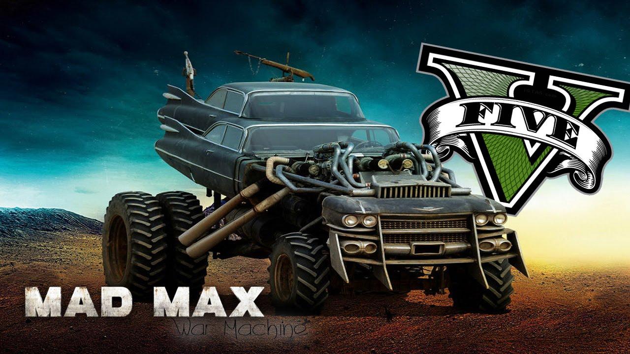 mad max war machine