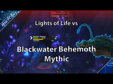 Mythic Blackwater Behemoth vs Lights of Life First Guild kill - Hunter PoV