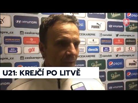 U21 | Trenér Karel Krejčí po výhře v Litvě