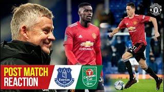 Solskjaer, Matic & Tuanzebe react to Goodison Park win   Everton 0-2 Manchester United