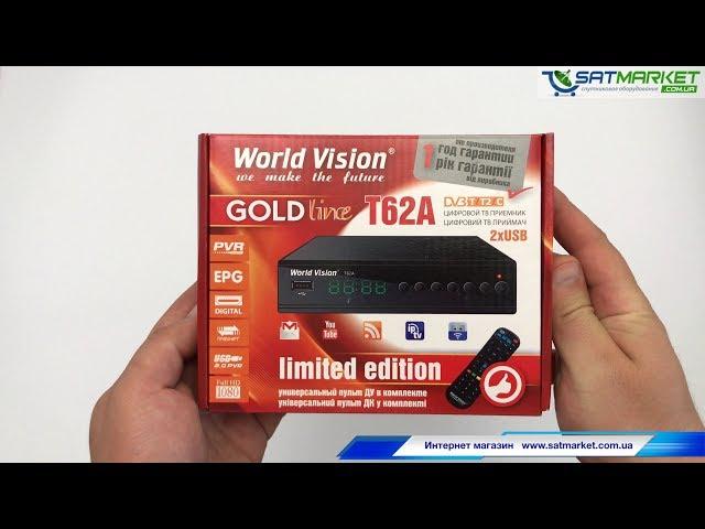 Видео обзор World Vision T62A