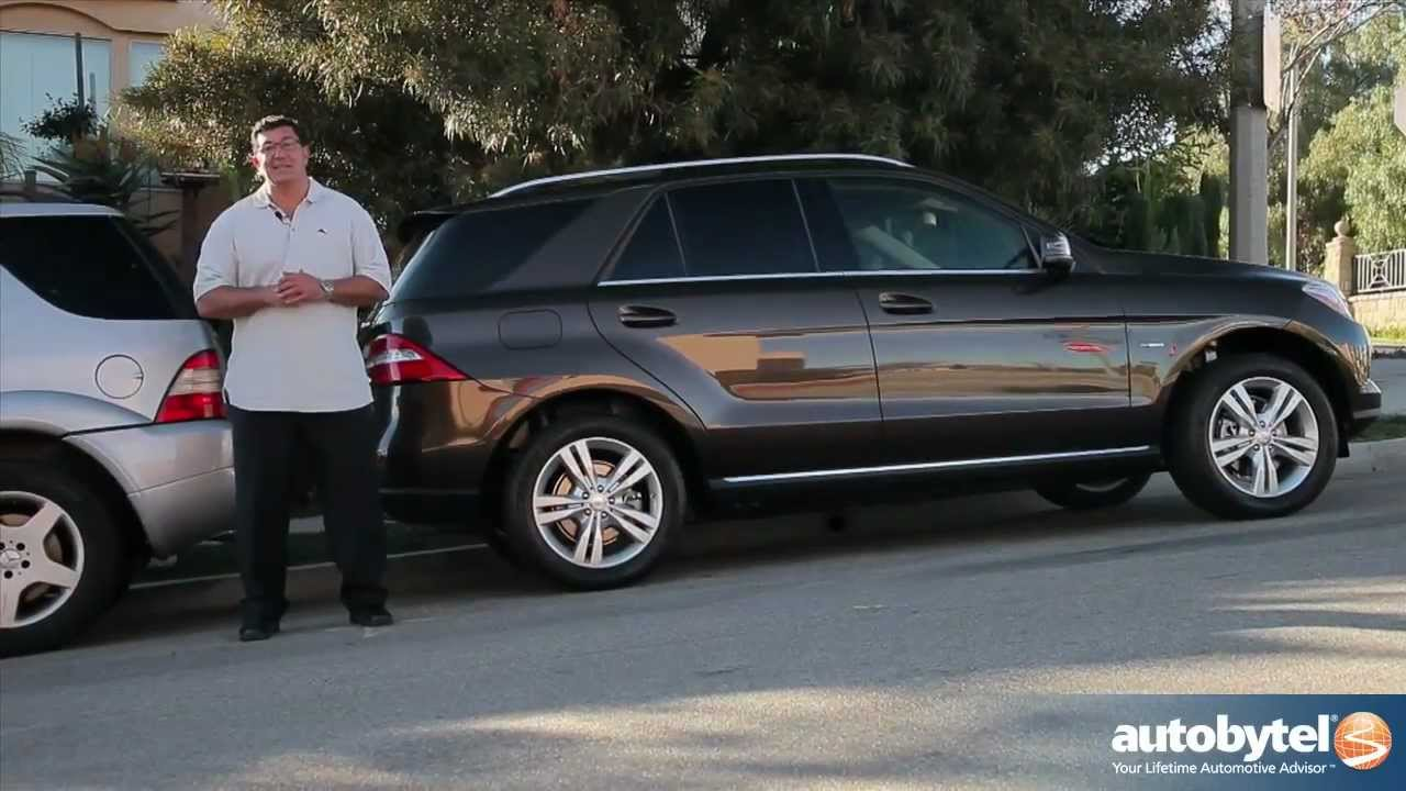 2012 mercedes benz ml350 test drive luxury suv review - Mercedes Benz Suv 2012