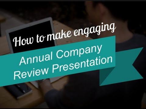 How To Make Attractive Business Review Presentation  Youtube