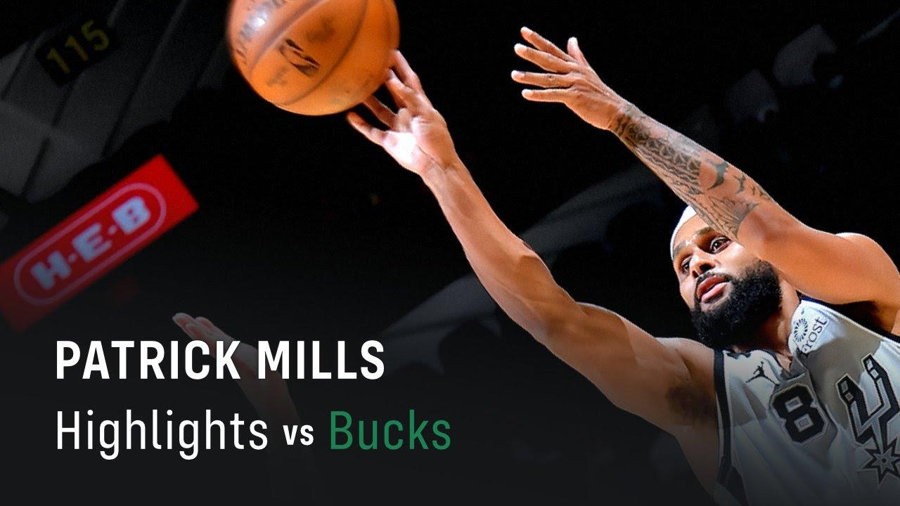 Patrick Mills' Highlights: 20 PTS, 6 3PM vs Bucks (10.05.2021)