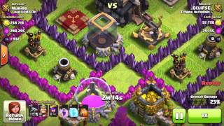 Clash of Clans WE LOST?!!!! UPGRADING HOGS + FIRST WAR LOSS