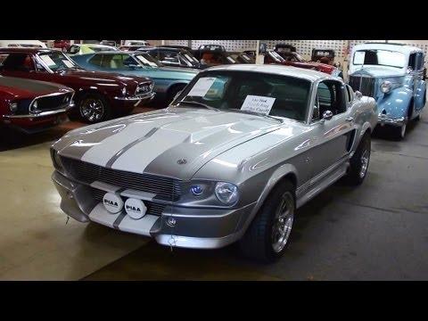 1967 Shelby GT500E Eleanor Replica - Built on Original S-Code Fastback Mustang