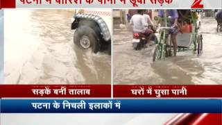 Rains And Floods Worsen Situations In Patna,  Lifestyle Affected